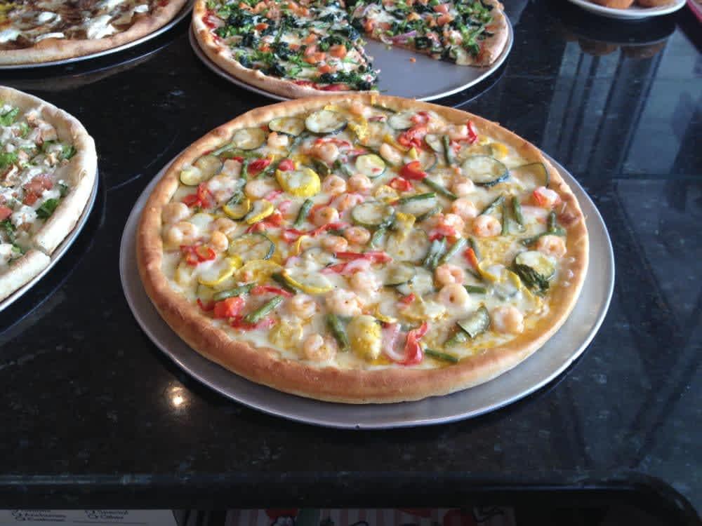 Delizia Pizza Kitchen Menu