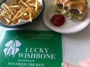 Photo at Lucky Wishbone