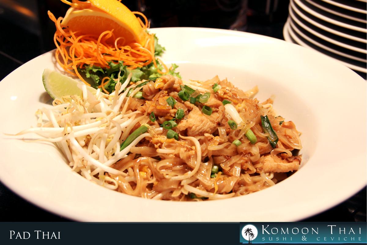 Pad Thai at Komoon Thai Sushi & Ceviche