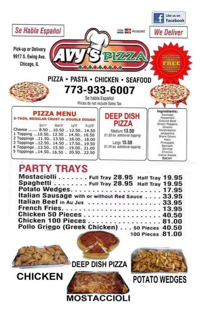 Photo at Avy's Pizza