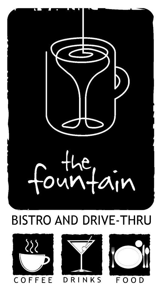 the fountain at The Fountain Bistro & Drive-thru