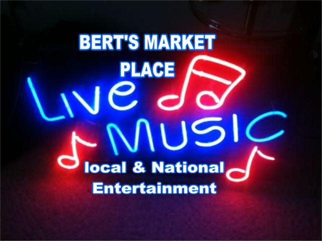 bert' at Bert's Market Place