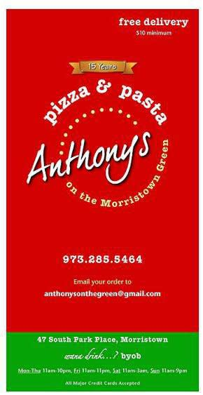 1 at Anthony's Pizza