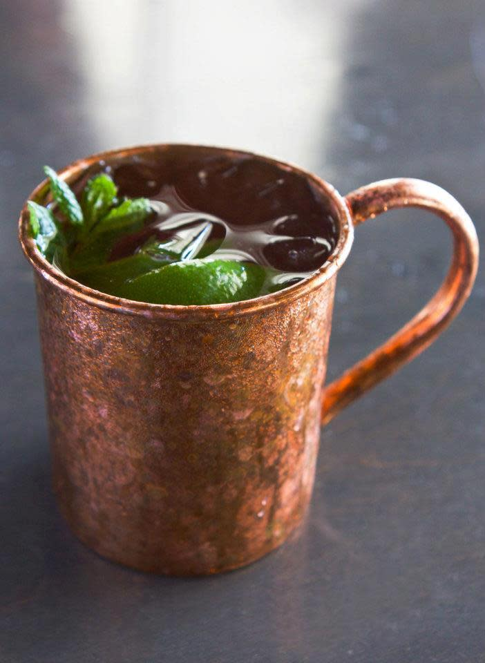 Moscow Mule at Sababa Restaurant & Lounge (CLOSED)