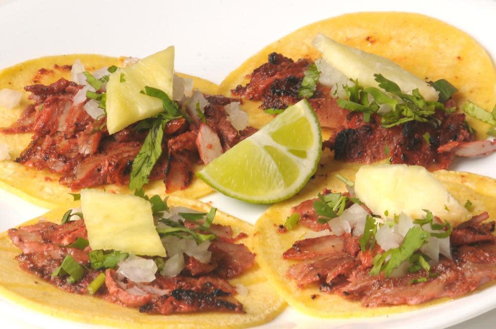 taquitos al pastor at Marioli Meals to Gourmet