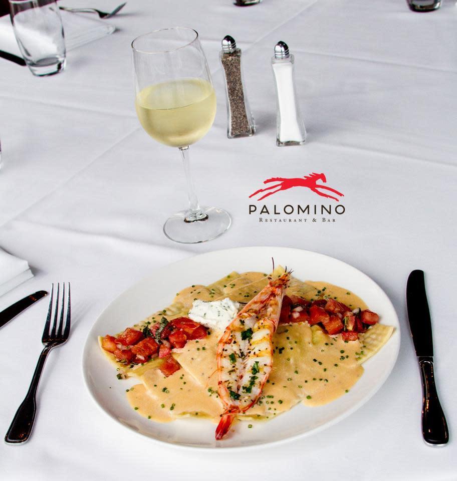 food at Palomino