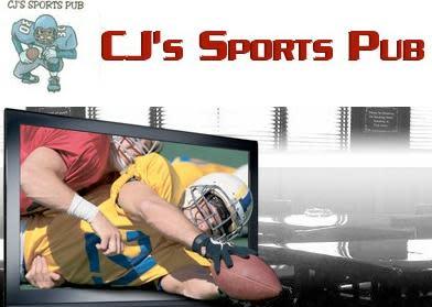 s at CJ's Sports Pub