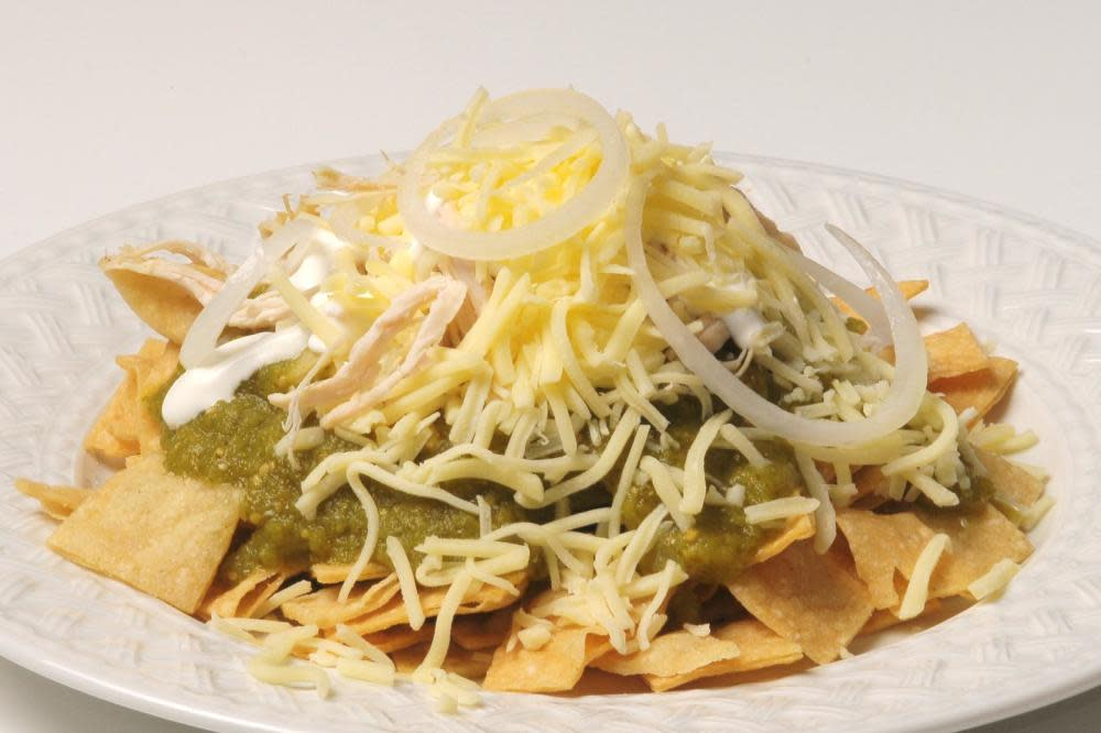 chilaquiles at Marioli Meals to Gourmet