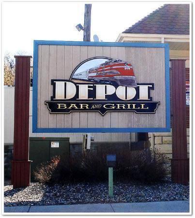 Photo at The Depot Bar and Grill