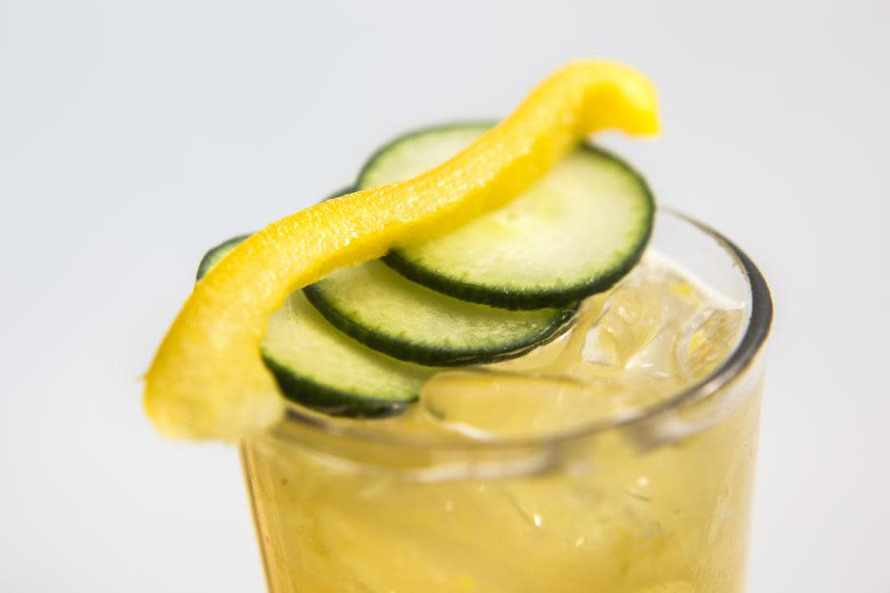 Canción del Jardin (Garden Song) - Cocktails Late Summer 2014 at Azucar Lounge
