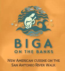 logo at Biga on the Banks