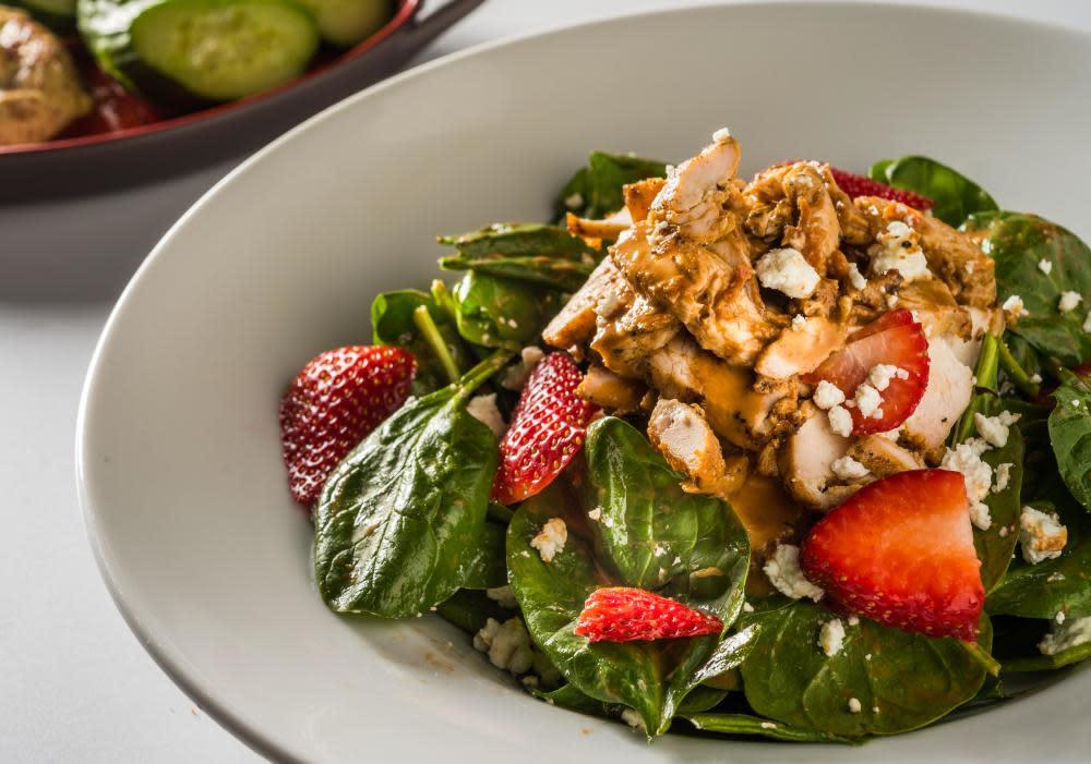 Strawberry Chicken Salad at ZEA Restaurant