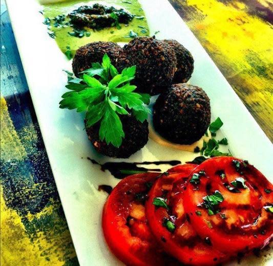 Falafel at Sababa Restaurant & Lounge (CLOSED)