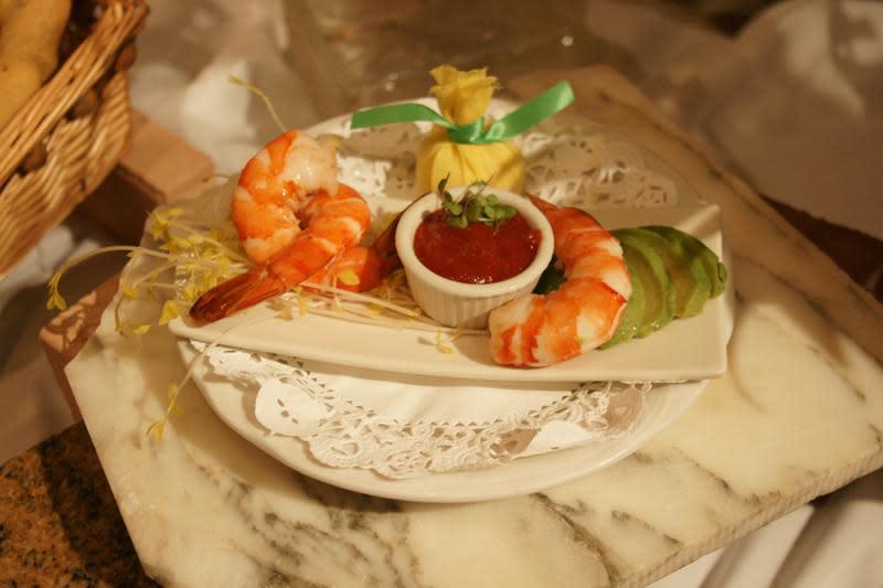 Gulf Shrimp Cocktail at Cafe L'Europe
