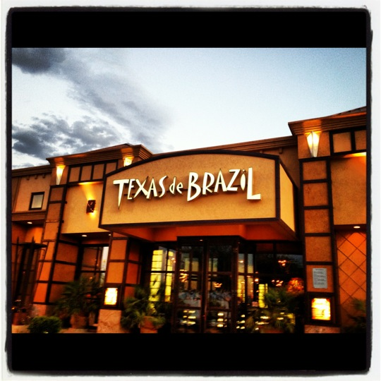 Texas de Brazil Las Vegas features four private dining rooms. The Carnival room seats up to 12 guests, Rio room seats up to 20 guests, Texas room seats up to 60 guests and the Brazil room can accommodate 85 guests comfortably/5(K).