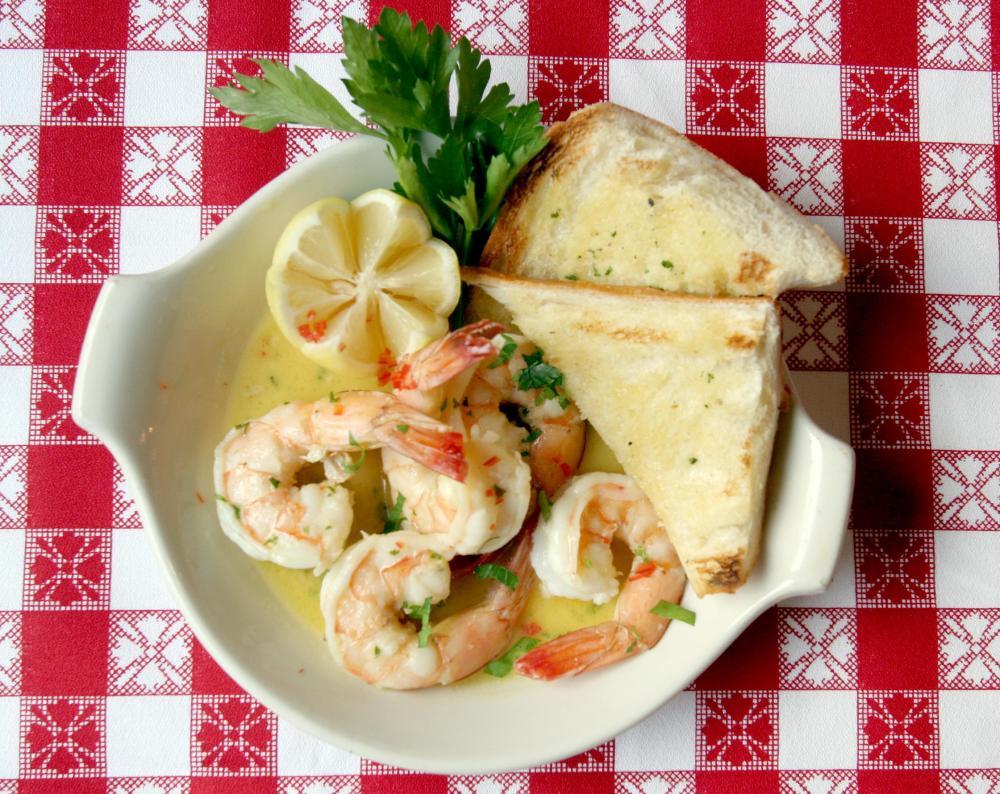 Shrimp Scampi Photo
