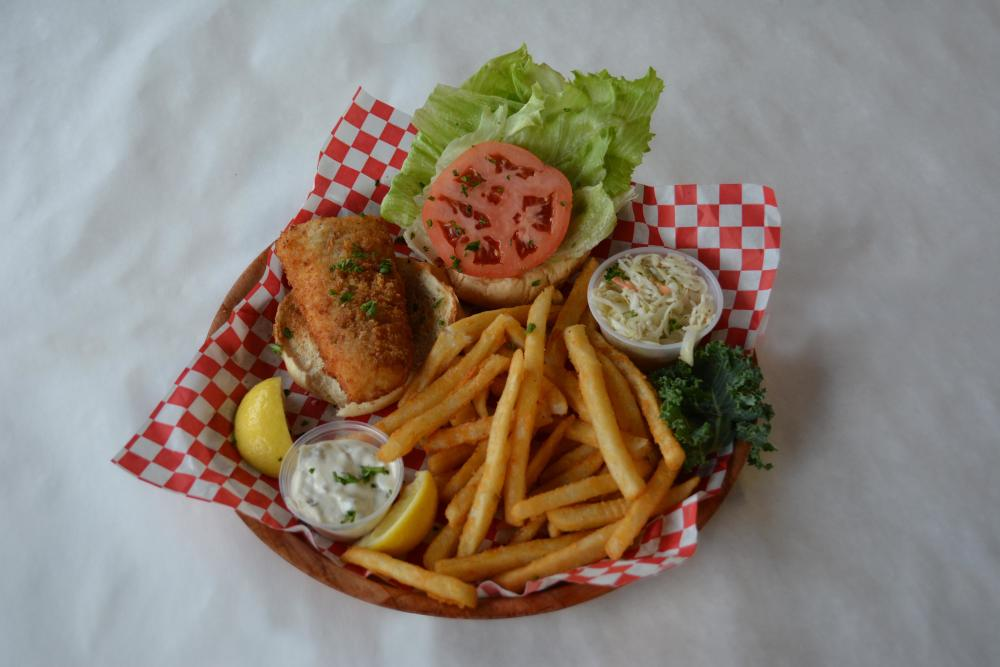 Tuesday | Fried Fish Sandwich. Photo