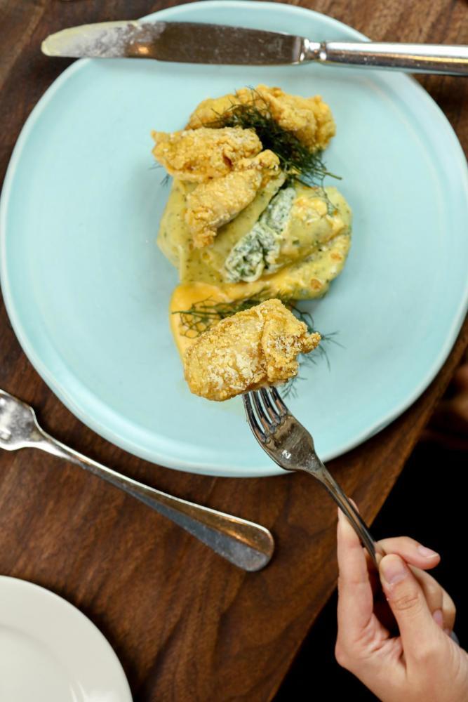 Crabmeat Crepe Photo