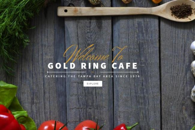 Gold Ring Sandwich Shop in Tampa FL